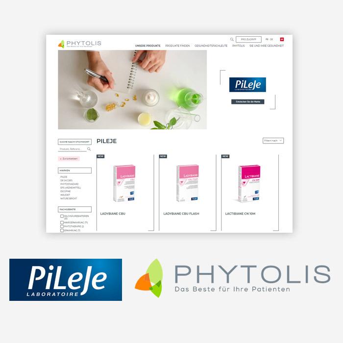 Sie werden weitergeleitet auf die Seite vos Phytolis.ch, des Schweizer Niederlassung der Gruppe PiLeJe.